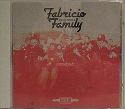 Fabricio and his famous family  CD Cover